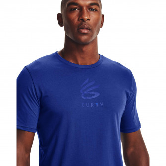Under Armour Curry Brand Logo T-Shirt ''Blue''