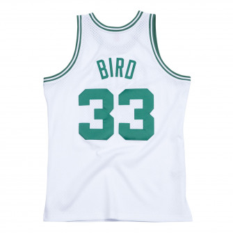 M&N Swingman Boston Celtics 1985-86 Larry Bird Jersey ''White''