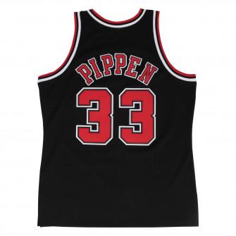 M&N Swingman Chicago Bulls Alternate 1997-98 Scottie Pippen Jersey ''Black''