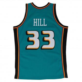M&N NBA Detroit Pistons Road 1998-99 Swingman Jersey ''Grant Hill''