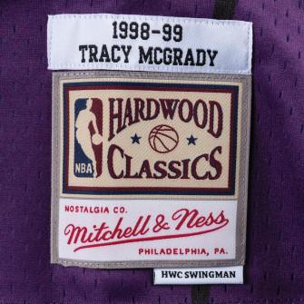 M&N NBA Toronto Raptors Road 1998-99 Swingman Jersey ''Tracy Mcgrady''