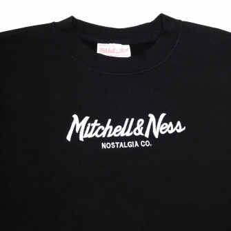 Mitchell & Ness Pinscript Logo Hoodie ''Black''