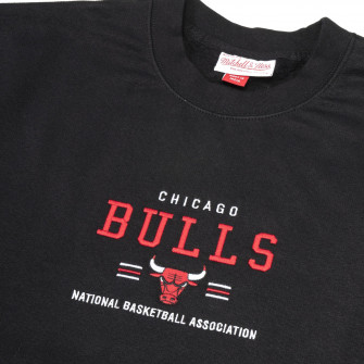 M&N NBA Chicago Bulls Archived Crew Hoodie ''Black''