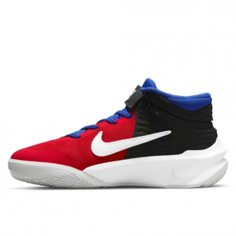 Nike Team Hustle D 10 FlyEase ''Off Noir/University Red'' (GS)