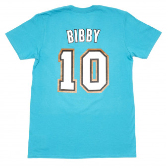 M&N NBA Vancouver Grizzlies Mike Bibby HWC Edition T-Shirt ''Blue''