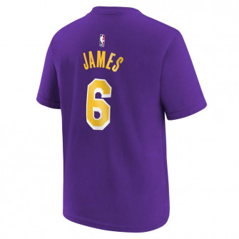 Nike NBA Los Angeles Lakers Lebron James T-Shirt ''Purple''