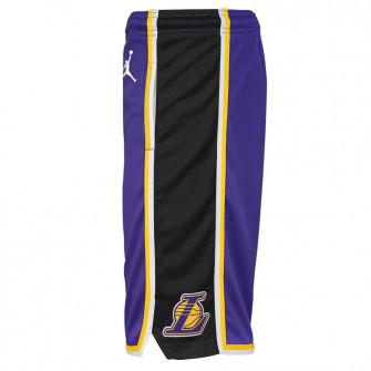 Air Jordan NBA Swingman Los Angeles Lakers Kids Shorts ''Purple''