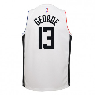 Nike Los Angeles Clippers Paul George City Edition Jersey ''White''