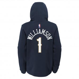 Nike NBA New Orleans Pelicans Zion Williamson Kids Hoodie ''Navy Blue''