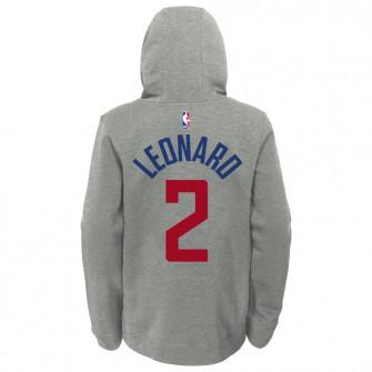 Nike NBA Los Angeles Clippers Kawhi Leonard Kids Hoodie ''Grey''