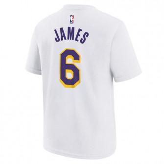 Nike NBA Los Angeles Lakers Lebron James T-Shirt ''White''