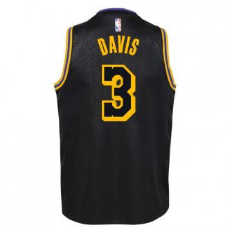 Nike NBA City Edition Los Angeles Lakers Anthony Davis Kids Jersey ''Black''