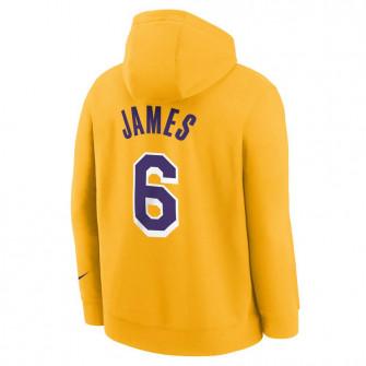 Nike NBA Los Angeles Lakers Lebron James Kids Hoodie ''Amarillo''