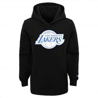 Nike NBA Los Angeles Lakers City Edition Kids Hoodie ''Black/Blue''