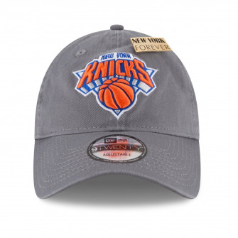 Kapa New Era New York Knicks 9TWENTY NBA Draft ''Storm Grey''