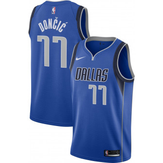 Otroški dres Nike Dallas Mavericks Luka Doncic #77 ''Icon Blue''