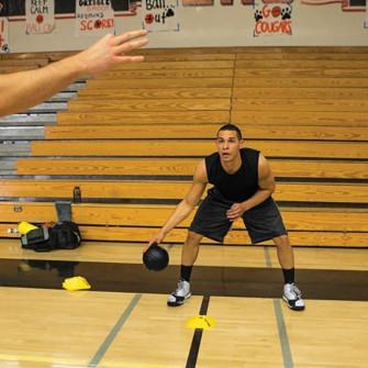 Manjša košarkarska žoga SKLZ Lahka – Lightweight Control Basketball