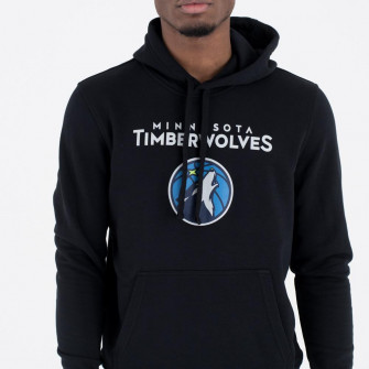 Pulover New Era Minnesota Timberwolves Team Logo ''Black''