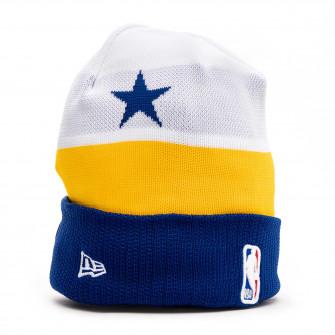 Zimska kapa New Era NBA18 Golden State Warriors Tipoff Knit