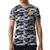 New Era NBA LA Lakers Geometric T-Shirt ''Grey''
